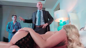 My busty wife Christie Stevens wants to be fucked by my boss!