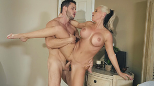 Horny step-mommy Alena Croft always says yes for fucking with sexy stepson!