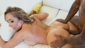 Black boy fucks Mom Richelle Ryan touching her fat ass!
