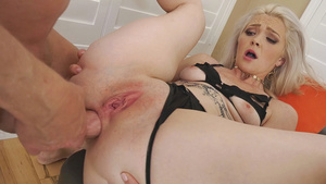 Teen blonde Chanel Grey gaping anal fuck!