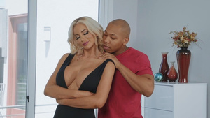 Cheating wife Nicolette Shea sucking cock Ricky Johnson