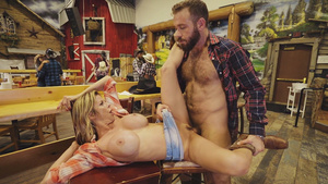 Country milf Alexis Fawx fucked on public!