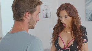 Hot MILF Syren De Mer gets her son's friend young cock mom porn tube.
